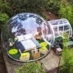Clear Garden Domes for hire