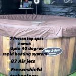 Hot tub hire in the West Midlands 4-7person tubs available