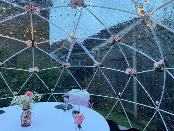 Garden Igloo Dome Pod Hire-slide-5