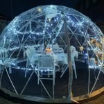 Dine Outdoors in an Igloo – The Luxury Package