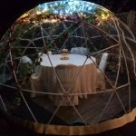 Garden Igloo Dome Pod Hire