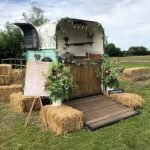 1980'S Vintage Rice Horse Trailer  Converted into a Mobile Bar
