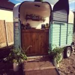 Dry-Hire Vintage Rice Horse Trailer Converted Mobile Bar
