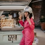 VW Camper glitter bar hire – Surrey