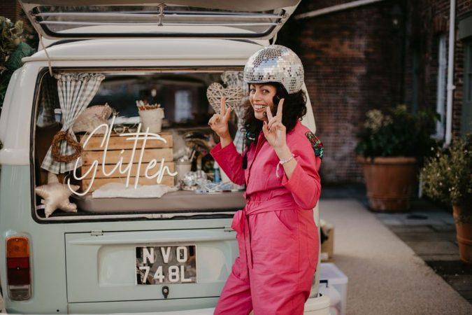 VW Camper glitter bar hire – Surrey-slide-1