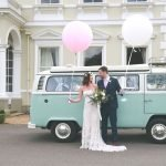 Blue Campervan Wedding Car Hire